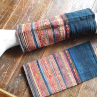 STORES アカ族 ソックス脚絆NO. 23 上部口33x長さ33x下部口30cm タイ ミャンマー北部山地岳 民族衣装 本物 手仕事 刺繍
