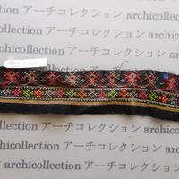 Hmong モン族 はぎれno.140  5x23 cm 刺繍布 古布 山岳民族 hilltribe ラオス タイ
