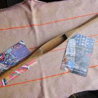 織り 織機 シャトル 杼 使用可 ストアーズno.27  60 g  全長48巾3.3高2.2 内径長10.2巾3深1.7cm shuttle 木製 オールド