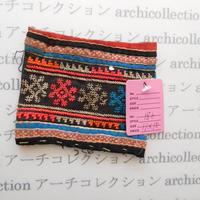 Hmong モン族 はぎれno.186  11x10 cm 刺繍布 古布 山岳民族 hilltribe ラオス タイ