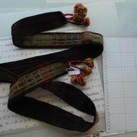 ナガ族のベルト布 no.15L 182x5.5cm 綿 Naga tribe インド ミャンマー北部 India Nagaland ナガランド