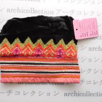 Hmong モン族 はぎれno.50  14x12 cm 刺繍布 古布 山岳民族 hilltribe ラオス タイ