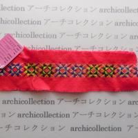 Hmong モン族 はぎれno.21  23x6 cm 刺繍布 古布 山岳民族 hilltribe ラオス タイ