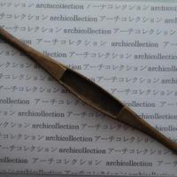 織り 織機 シャトル 杼 ストアーズno.136 4.6x3.5x2.8 cm shuttle 木製 オールド コレクション  のコピー
