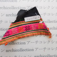 Hmong モン族 はぎれno.275  15x9 cm 刺繍布 古布 山岳民族 hilltribe ラオス タイ