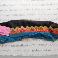 Hmong モン族 はぎれno.176  28x8 cm 刺繍布 古布 山岳民族 hilltribe ラオス タイ