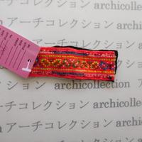 Hmong モン族 はぎれno.140  9.5x3 cm 刺繍布 古布 山岳民族 hilltribe ラオス タイ