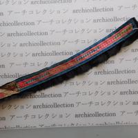 Hmong モン族 はぎれno.242  4x38 cm 刺繍布 古布 山岳民族 hilltribe ラオス タイ