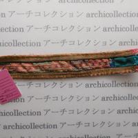 Hmong モン族 はぎれno.40  20x3 cm 刺繍布 古布 山岳民族 hilltribe ラオス タイ