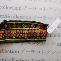 Hmong モン族 はぎれno.235  5x18 cm 刺繍布 古布 山岳民族 hilltribe ラオス タイ