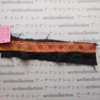 Hmong モン族 はぎれno.107   26x3 cm 刺繍布 古布 山岳民族 hilltribe ラオス タイ