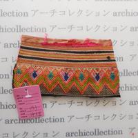 Hmong モン族 はぎれno.193  14x8 cm 刺繍布 古布 山岳民族 hilltribe ラオス タイ