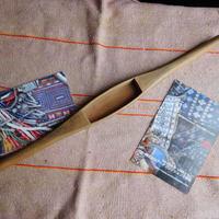 織り 織機 シャトル 杼 使用可 ストアーズno.21  60 g  全長42巾3.5高2.8 内径長9巾3深1.9cm shuttle 木製 オールド