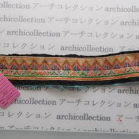 Hmong モン族 はぎれno.89  25x5 cm 刺繍布 古布 山岳民族 hilltribe ラオス タイ
