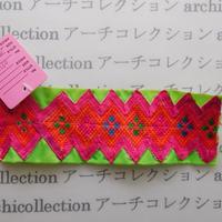 Hmong モン族 はぎれno.94  16x5 cm 刺繍布 古布 山岳民族 hilltribe ラオス タイ