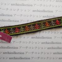 Hmong モン族 はぎれno.178  28x4 cm 刺繍布 古布 山岳民族 hilltribe ラオス タイ