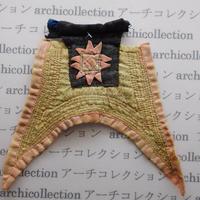 Hmong モン族 はぎれno.95  19x15 cm 刺繍布 古布 山岳民族 hilltribe ラオス タイ