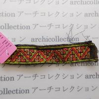 Hmong モン族 はぎれno.221  15x3 cm 刺繍布 古布 山岳民族 hilltribe ラオス タイ