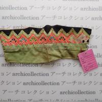 Hmong モン族 はぎれno.36  20x8 cm 刺繍布 古布 山岳民族 hilltribe ラオス タイ