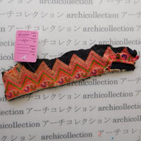 Hmong モン族 はぎれno.170  20x4 cm 刺繍布 古布 山岳民族 hilltribe ラオス タイ