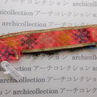 Hmong モン族 はぎれno.230  3.5x22 cm 刺繍布 古布 山岳民族 hilltribe ラオス タイ