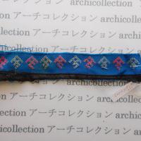 Hmong モン族 はぎれno.237  3.5x22 cm 刺繍布 古布 山岳民族 hilltribe ラオス タイ