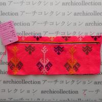 Hmong モン族 はぎれno.116  19x7 cm 刺繍布 古布 山岳民族 hilltribe ラオス タイ
