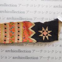 Hmong モン族 はぎれno.276  6.5x19 cm 刺繍布 古布 山岳民族 hilltribe ラオス タイ