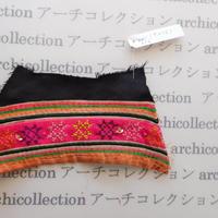 Hmong モン族 はぎれno.256  9x15 cm 刺繍布 古布 山岳民族 hilltribe ラオス タイ