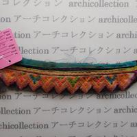 Hmong モン族 はぎれno.5  20x4 cm 刺繍布 古布 山岳民族 hilltribe ラオス タイ