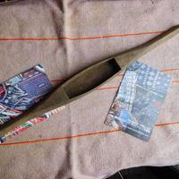 織り 織機 シャトル 杼 使用可 ストアーズno.30  90 g  全長48巾4.5高2.7 内径長11.5巾3.7深2.2cm shuttle 木製 オールド