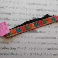 Hmong モン族 はぎれno.303  21x2.5 cm 刺繍布 古布 山岳民族 hilltribe ラオス タイ