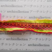 Hmong モン族 はぎれno.88  23x4 cm 刺繍布 古布 山岳民族 hilltribe ラオス タイ