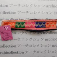 Hmong モン族 はぎれno.38  17x4 cm 刺繍布 古布 山岳民族 hilltribe ラオス タイ