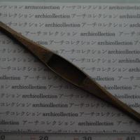 織り 織機 シャトル 杼 ストアーズno.64 4.9x3.8x2.8 cm shuttle 木製 オールド コレクション  のコピー