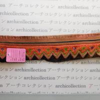 Hmong モン族 はぎれno.177  30x6 cm 刺繍布 古布 山岳民族 hilltribe ラオス タイ