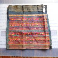 STORES アカ族 はぎれソックス脚絆NO. 6 30X30cm タイ ミャンマー北部山地岳 民族衣装 本物 手仕事 刺繍