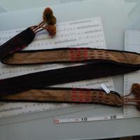 ナガ族のベルト布 no1M 172x5.5.cm 綿 Naga tribe インド ミャンマー北部 India Nagaland ナガランド