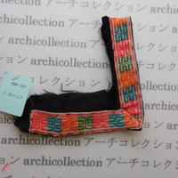 Hmong モン族 はぎれno.285  13x11.5 cm 刺繍布 古布 山岳民族 hilltribe ラオス タイ