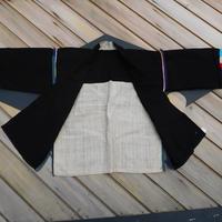 ハニ族ジャケットstores.NO.3 アカ族 中国 雲南省 タイ ミャンマー北部山地岳 民族衣装 本物 手仕事 刺繍