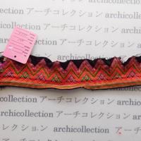 Hmong モン族 はぎれno.81  23x4 cm 刺繍布 古布 山岳民族 hilltribe ラオス タイ