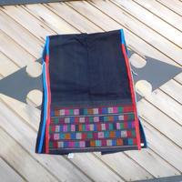 ハニ族ジャケットstores.NO.8 アカ族 中国 雲南省 タイ ミャンマー北部山地岳 民族衣装 本物 手仕事 刺繍