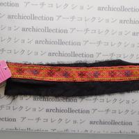 Hmong モン族 はぎれno.68  26x6 cm 刺繍布 古布 山岳民族 hilltribe ラオス タイ