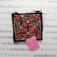 Hmong モン族 はぎれno.3  9x10 cm 刺繍布 古布 山岳民族 hilltribe ラオス タイ