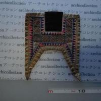 モン族の胸襟飾りWING型 no.26  20x25 cm  Hmong embroidery needlework はぎれ ラオス タイ
