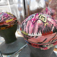 ウズベキスタン ウズベク族UZBEK WOMEN'S CAP55刺繍女性用帽子52h10cm