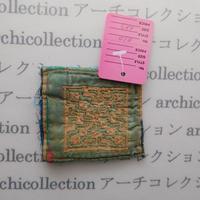 Hmong モン族 はぎれno.10  6x7 cm 刺繍布 古布 山岳民族 hilltribe ラオス タイ