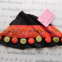 Hmong モン族 はぎれno.87  20x6 cm 刺繍布 古布 山岳民族 hilltribe ラオス タイ