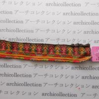 Hmong モン族 はぎれno.55  25x4 cm 刺繍布 古布 山岳民族 hilltribe ラオス タイ