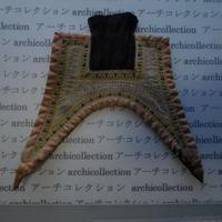 モン族の胸襟飾りWING型 no.22  20x22 cm  Hmong embroidery needlework はぎれ ラオス タイ